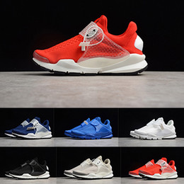 black red weaves Coupons - 2019 Presto Mesh Fragment X Sock Dart SP Lode Women Mens Trainers Shoes Red White Blue Black Luxury Designer Breathable Woven Running Shoes
