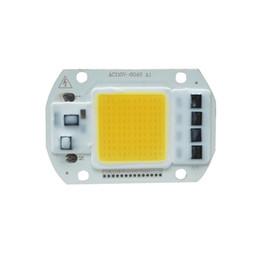 led pcb pc Rebajas 50W COB viruta del LED del bulbo del grano por la luz de inundación de bricolaje AC110V