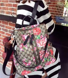 blumenrucksäcke Rabatt 2019 neue Blumentuchbeutel Rucksack Oxford Frauentuch Beutel der Frauen koreanische Version Mode Rucksack, hohe Qualität, Hersteller Verkauf