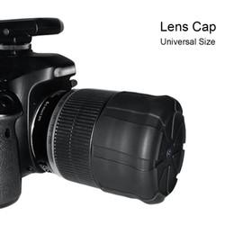 casquillos centrales a presión Rebajas gel de silicio cubierta de la lente universal de lente de la cámara digital SLR tapa de protección del polvo de gel de silicona