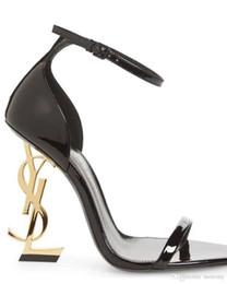 2019 novas designer de moda de luxo sapatos de salto alto das mulheres sapatos de salto alto Designer de calçados femininos Carta calcanhar Simples e generoso Origem de