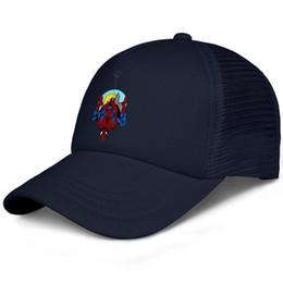 chapeau ajusté en soie Promotion SpiderMan Casquettes de baseball en soie pour enfants en soie Ajustable S'adapte à la casquette de baseball pour femmes
