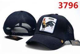 Cappelli da strada online-berretto da baseball personalizzato con il cappello del gallo di stile di moda di personalità di modo di personalità di moda hip-hop