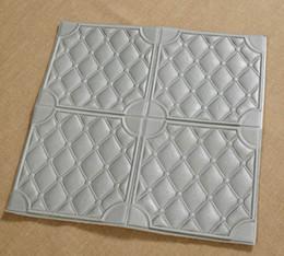 3D Wand Tapete Selbstklebende Wandaufkleber Ziegel PE Schaum DIY Aufkleber Schalldämmung Tapete Splitter Weiß Braun Wohnkultur Zimmer Schlafzimmer von Fabrikanten