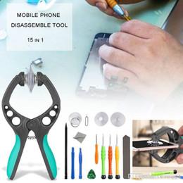 15pcs celular celular tela abrindo reparação ferramentas kit chave de fenda definido para iphone de Fornecedores de o disco rígido funciona