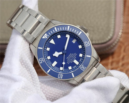 2019 relógios suíços ZF V6 Versão de luxo mens relógios automáticos Swiss ETA 2836 movimento 25600 25600TB Pelagos pulseira de titânio Cerâmica aro homens relógio de pulso desconto relógios suíços