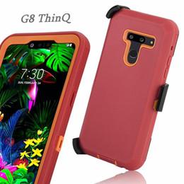 casi di assorbimento degli urti Sconti Per Samsung Note 10 Pro A70 3 in 1 robusto ibrido resistente agli urti protettivo con custodia per telefono con clip da cintura