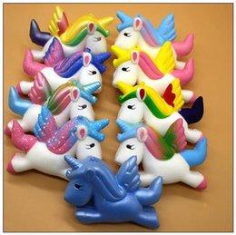2019 itens unicórnio Multi Cores 11 * 8 * 3.5 cm Squishy Unicorn Bonito Pegasus Unicorn Squishy Suave Lento Rising Squishies Novidade Item desconto itens unicórnio