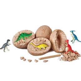 Яйца Динозавров Игрушки Копания Ископаемых Раскопки Динозавров Игрушки для Детей Обучающие Развивающие Игрушки Подарки Случайный Цвет от Поставщики оптовый куб брелок