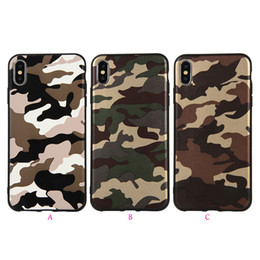 samsung galaxy core covers Promo Codes - Camouflage Soft TPU Case For Galaxy (A6 Plus A7 A750 A8 A9 Star J4 J6 J8 J2 Core)2018 J4 Core Military Silicone Fashion Luxury Cover Skin
