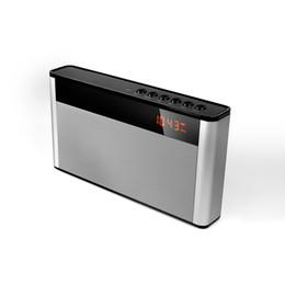 hifi de carro Desconto P2 Alto-falantes Sem Fio Bluetooth Mini Subwoofer Portátil Handsfree Carro AUX TF Altifalante Receber Chamada Música Sucção Mic HiFi Speaker FM rádio