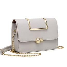 479da69a8da3 Fashion Small Hard Leather Women s Messenger bag Handbag Metal Portable Shoulder  bags Metal strap Female Tote Crossbody bag 2018