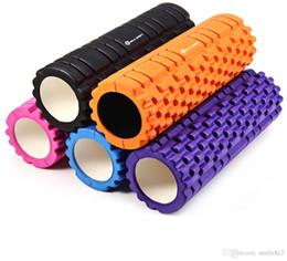 Rolos de treinamento on-line-Aptidão Ponto Flutuante EVA Yoga Rolo De Espuma Yoga Blocos Yoga Massagem para Ginásio Exercício Esportes Massagem Pilates Alongamento Treinamento VB
