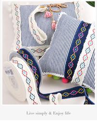 1 дюйм 25 мм 6 Цветов Этнических Племенных Стиль Печатных Grosgrain Бахромой Ленты 50 Ярдов / Рол для Украшения Ремесел от Поставщики этнические ленты
