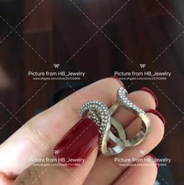 Marque de mode populaire Full Diamond ouvert designer bagues pour dame Design Femmes Parti Lovers De Mariage cadeau De Luxe Bijoux pour La Mariée avec boîte ? partir de fabricateur