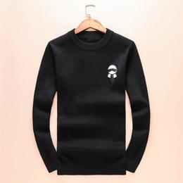 slim fit herren sweatshirts Rabatt 2019 Luxus Monster Sweater Mens Brand Designer Strickwaren Winter Warme Pullover Pullover Strickjacke Slim Fit Kaschmir Männer Sweatshirt