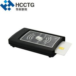 2019 lector de rfid usb SC / PC CCID Conformidad ISO 7816 e ISO 14443 Lector de tarjetas inteligentes USB sin contacto y sin contacto Ranura SAM ACR1281U-C1 lector de rfid usb baratos