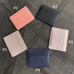 cerniera piccola tasca di cotone Sconti Glitter KS supporto di carta di lusso del raccoglitore di disegno di Protable ID Slot per scheda donne degli uomini della borsa della moneta della borsa di marca Mini Bling Bling pacchetto della carta Portafogli
