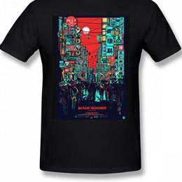 Blade Runner T Shirt Blade Runner T Shirt Manga corta 100% algodón Camiseta Hombre divertido Big Fashion Imprimir camiseta desde fabricantes
