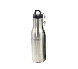 Бутылки 12 унций онлайн-12oz Бутылка пива из нержавеющей стали хранитель Armor Бутылка вакуумный охладитель изолятор с открывалка для бутылок DHL FEDEX бесплатно