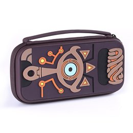 Cajas de juegos nintendo online-Accesorios para juegos Nuevo producto EVA Bolsa de almacenamiento rígido de viaje Bolsa de viaje para la caja del interruptor de Nintendo
