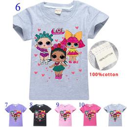 Girls Boys Surprise Футболки Дизайнерские футболки Детский игровой мультфильм 100% хлопок с коротким рукавом футболка Summer Baby Детская одежда на 4 ~ 12 лет от