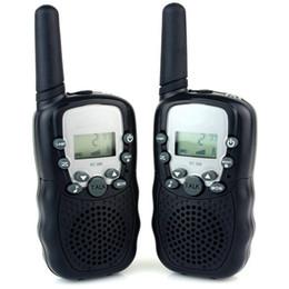 auriculares pola motorola Rebajas DOS juegos de teléfono inalámbrico para niños Walkie Talkie Gadgets electrónicos Radios con batería Walkie Talkie Toy Toy Educatianal para niños