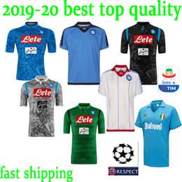 bb90dc65a99 new 2018 2019 Serie A Naples New Napoli home soccer jerseys Napoli blue  football Jerseys Shirt for men 18 19 HAMSIK L.INSIGNE PLAYER Shirt