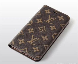 Billetera de protección online-Funda de cuero de lujo de la PU del teléfono de la carpeta de la manera para el iphone X XS Max XR 7 8 8 plus con la ranura de tarjeta cubierta de cáscara de la protección del cordón para 6 6S más