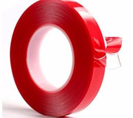 Canada Gel acrylique de haute résistance de gel adhésif acrylique à double face rouge de ruban de 3m pour l'auto intérieur de voiture utile Offre
