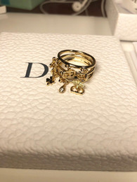 Conjunto de anillo de boda de los hombres online-El anillo de Gran Tamaño de la boda parejas de boda conjuntos de diamante Crystal Cerámica Cruz para Mujeres Hombres