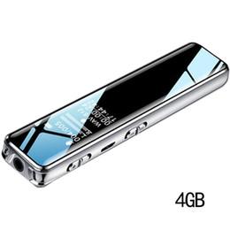 reproductor de litio mp3 Rebajas Reducción de ruido grabadora de voz de gran capacidad de reproductor de MP3 No se admite la pantalla OLED 2880 de la batería de litio minutos