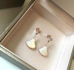 donne di marca designer di gioielli orecchini d'oro di spessore Orecchini S925 placcata con vite prigioniera del diamante Tik tok donne di modo dell'orecchino del progettista da