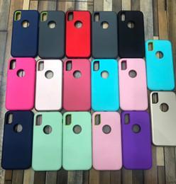 2019 beliebte handy-marken Matt 3 in 1 Hybrid Defender Phone Cases für Moto E5 Play go P30 Hinweis G6 Play plus 2018 LG Stylo 4 Shockproof Cover