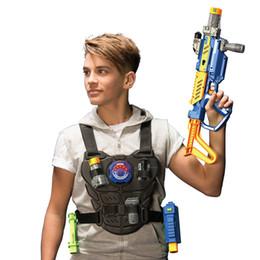 Arma elétrica kid on-line-Silverlit ADVANCE BATALHA OPS arma Crianças infravermelhos Brinquedos elétricos Laser Gun Simulação Equipage luxo situado Boy Toy Guns 8Y + 07