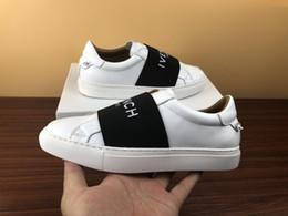 Scarpe da sposa in pelle uomo online-scarpe di design con scarpe casual in vera pelle con sneaker di design di lusso per scarpe da uomo sneakers da uomo con scatola