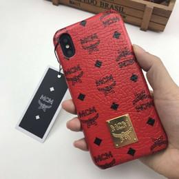 Casos bonitos do telefone on-line-Linha de luxo folha de telefone case para iphone x 6 6 s 7 8 Mais Casos Moda TPU Macio Bonito Tampa Traseira Legal Clássico para o iphone X XR XS MAX caso