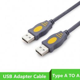 câble de connecteur de disque dur Promotion Adaptateur USB 2.0 Type A vers A Connecteur mâle à mâle 1,5 M Câble d'extension 5FT pour disque dur d'im ..