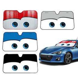 солнцезащитные очки Скидка Мультипликационная оконная фольга Eye Pixar Обогрев лобового стекла Зонт от солнца Окно ветрового стекла автомобиля Солнцезащитная шторка Авто Солнцезащитный козырек Автомобильные чехлы