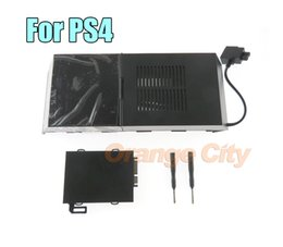 "2021 cobertura de console ps4 GameMod para Sony Playstation 4 PS4 Gaming Console Nyko Data Bank 3,5"" Hard Drive HD Gabinete Atualize Doca Tampa"