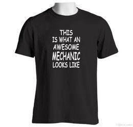 Canada Mécanicien génial T-shirt Outils Outils Boîte à outils Clés Vêtements pour hommes Combinaison de voiture cheap tools spanners Offre