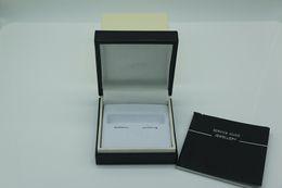 Boutons de manchette design noir de luxe MB Box avec Service Guide Book Classic Style ont un manuel ? partir de fabricateur