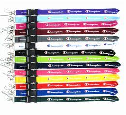 Diseñador de lujo Lanyards Campeón Supre NK ADI UA Marcas deportivas Correas de teléfono Llavero Cuerdas Tarjeta de identificación Colgante de cordón de baloncesto C61804 desde fabricantes
