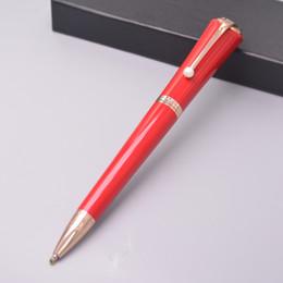 marilyn monroe geschenk Rabatt Luxus Hohe Qualität Musen Marilyn Monroe Mode Dame Unterschrift Kugelschreiber Mit Silber Goldene Rose Gold Perle Clip Business Special Geschenke