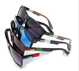 Gafas de sol de marca para barato online-2018 Gafas de sol baratas para mujeres y hombres Deporte al aire libre Ciclismo Gafas de sol de cristal Gafas de sol de diseñador de la marca Sol