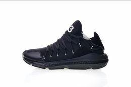 online store 21ae2 a1fbf 2019 Nuove scarpe casual di alta qualità Y-3 uomini reali scarpe da corsa  Nero bianco moda y3 scarpe da ginnastica dimensioni EUR 40-45