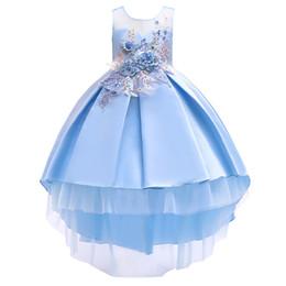 Argentina Falda linda para niños vestido bohemio para niños vestido de princesa algodón de calidad con estampado de moño vestido para niñas cheap quality skirts Suministro