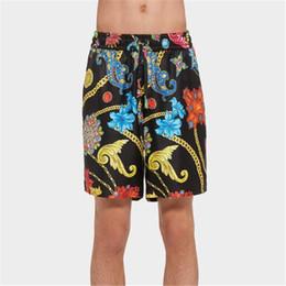 Marée Marque Personnalité Adolescents Shorts Mode Imprimé Réglable Hommes Pantalon Court De Vacances Casual Garçons Pantalon Court ? partir de fabricateur