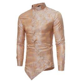 Deutschland Herrenhemd Bluse T-Shirt Blumendruck Button Langarmhemd Herrenhemden Vintage Casual Herrenkleidung cheap vintage t shirts xl Versorgung