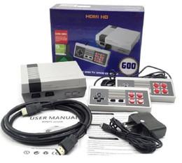 игровые приставки hd Скидка Игровая приставка HDMI Mini Classic TV CoolBaby 600 модель видеоигры портативная игровая приставка для 600 NES HD Games Console Рождественский подарок
